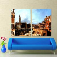 Quality frame painting landscape interior wall painting for sale