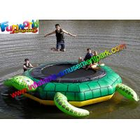 Quality Turtle Jump 15-Foot Water Trampoline, Inflatable Floating Water Toys / Jumping Pad for sale
