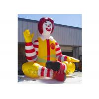Buy cheap Promotional Inflatable Cartoon Characters , Inflatable McDonald Character from wholesalers