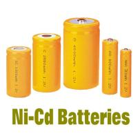 Quality NiCd Battery Packs AAA300MAH , Rechargeable Batteries BackUP Power for sale