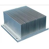 Buy 6061 T6 / T66 Aluminum Heatsink Extrusion Profiles For Cars / Trains Machinery at wholesale prices