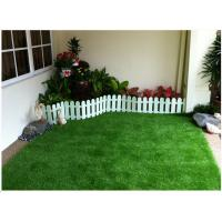 Quality Stem Shape Synthetic Lawn For Landscaping 30mm 14700 Tufts / Sqm UV Resistant for sale