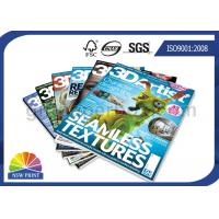 Quality Customized Magazine Printing / Brochure Printing Services with Fast Delivery for sale