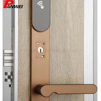 Quality Hotel Keyless Mifare Card Door Lock Passcode Security Combination Open for sale