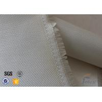 Buy 0.7mm 600 G / M2 Fiberglass High Silica Cloth Fire Blanket Satin 8HS 1.2 X 1.8m at wholesale prices
