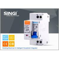 Buy Single phase Electric mini Residual Current Circuit Breaker for industrial , building at wholesale prices