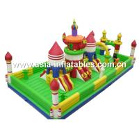 China Giant Jungle Funcity / Inflatable Animal Fun City For Children Park Games on sale