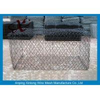 Quality Green Silver Welded Mesh Gabions Wire Cages For Rock Retaining Walls for sale