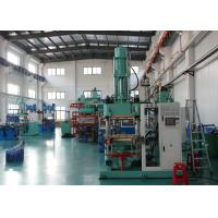 Quality 4 Column Silicone Rubber Injection Molding Machine 200 Ton All - In - Out Structure for sale