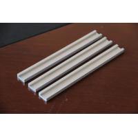 Quality Silver Industry Aluminum Extrusion Channel Thin Wall Mill Finished for sale