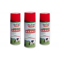 Quality Harmless Colorful Animal Safe Spray Paint Distinguish Between Sheep / Pig / Cattle for sale