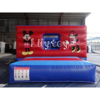 Quality Commercial Inflatable castle Bouncers For Inflatable Sports Games for sale