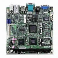 Quality Industrial Motherboard in Mini-ITX Form Factor, with Intel Atom N270/945GSE/ICH7-M for sale