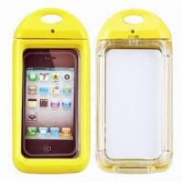 Quality 6m Depth Waterproof Swimming Cases for iPhone 4/4S, IPX8-certified for sale