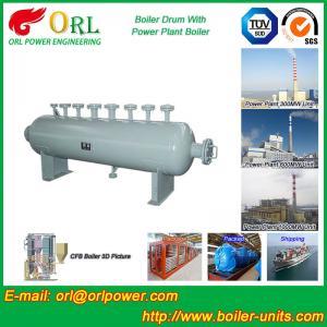 Quality 30 Ton Power Station Boiler Mud Drum Sterilization ORL Power SGS Standard for sale