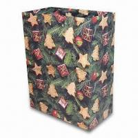 Quality Paper Bag, Suitable for Christmas Gift Packing Purposes, OEM Orders are Welcome for sale
