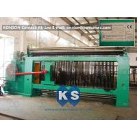 Quality Double Rack Drive Hexagonal Mesh Machine 4300mm With High Frequency Motor for sale