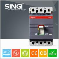 Buy Electrical Magnetic Moulded Case Circuit Breaker , 250s on / off square d circuit breakers at wholesale prices