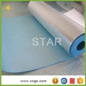 China High Reflective fireproof Thermal EPE Foam  Aluminum Foil Fireproof Heat Insul on sale