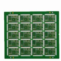 China Fr4 1.0mm BGA 2 Layer PCB Board Immersion Gold  PCB With UL Certificate on sale