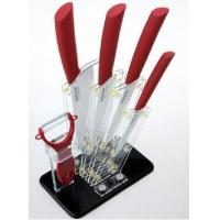 Quality Fashion Shape Red Acrylic Knife Block With Quick Delivery for sale