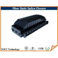 China 144 Core FTTH Dome Fiber Optic Splice Closure 2 Trays For Pole Mounted on sale