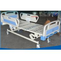 China Triple Folding Manual Hospital Bed , Luxury Patients Intensive Care Bed on sale