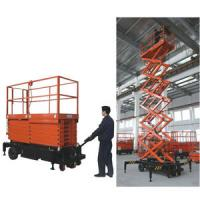 Quality ISO construction mobile electric lifting platform  / hydraulic scissor lift table Load 1000kg for sale