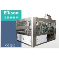 Quality PLC Carbonated Drink Filling Machine Balanced Pressure Automatic Bottle Filling Machine for sale