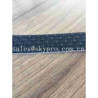 China High Performance PVC Conveyor Belt With Solid Square Rhombus Fine Ribbed Pattern on sale