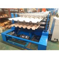 Quality Dual Level Sheet Metal Roofing Machine , Double Level Metal Roll Forming Machine for sale
