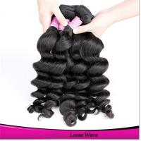 China raw unprocessed 100% remy natural wave hair weave silver brazilian human hair extensions on sale