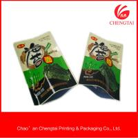 Quality Opaque and nontoxic feature three side seal plastic bag for sea sedge for sale