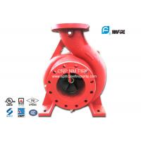 Quality Single Impeller Centrifugal UL FM Approved Fire Pumps Ductile Cast Iron Materials for sale