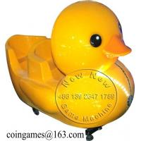 Quality Amusement Park Yellow Duck Coin Operated Kiddie Rides for sale
