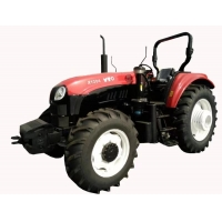 Quality 130hp Four Wheel Drive Tractor , 2300r/Min Wheel Horse Lawn Tractor for sale