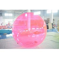 China PVC Inflatable Water Ball ,  Kids Or Adults Water Bubble Ball For Pool on sale