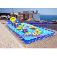 Quality Summer Inflatable Outdoor Water Toys , Ultimate Inflatable Backyard Water Park for sale
