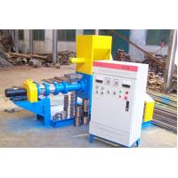 Quality 37KW Floating Fish Poultry Animal Feed Pellet Machine 2.10*1.145*1.35m for sale