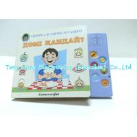 Eductational Learning Custom 6 Button Sound Book Module For babies