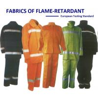 Quality Flame Retardant Neon Color Cotton Twill European Testing Standard for sale