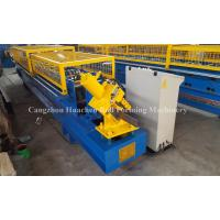 China L Shape Purlin Roll Forming Machine For Enterprises Civil Construction on sale