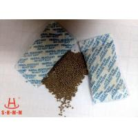 Quality Odorless Moisture Proof Mineral Desiccant 10g Non Woven Packing With Round Granular for sale