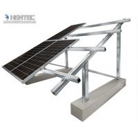 Buy High Corrosion Resistance Solar Roof Mounting Systems Mid Clam / End Clamp / Rail / Hook / Block at wholesale prices