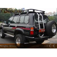 Quality W0709 Black Vehicle Luggage Rack Fit Car With Rain Gutter 300kgs Loading Capacity for sale