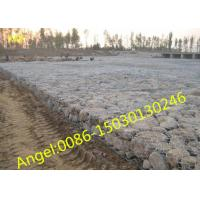 Buy Galvanized river bank protect gabion basket/gabion box(ISO 9001 factory) at wholesale prices