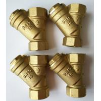 """Quality 3/4"""" 1"""" 2"""" Copper Filter Y Strainer Valve Brass Filter Valve For Solar Water Heater for sale"""