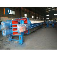China 1500mm high pressure membrane filter press with double cyclinder in India for sale