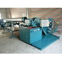 Quality ISO SGS Aluminum Spiral Tube Forming Machine 380V / 50Hz  With ideal flying slitter for sale