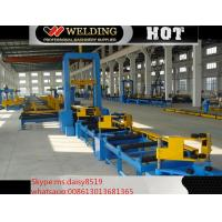 Quality VFD Spot Welding Speed Control H Beam Assembling Machine Automatic To Fix Flange And Web for sale